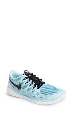 Nike Free 5.0 14 Running Shoe synthetic/mesh icecube blue/black, pink/black, hyper turquoise/hyper pink, black/anthracite/white (100.00) NA