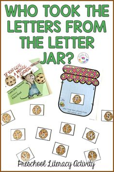 If You Give a Mouse a Cookie activities for preschool, prek, & kindergarten. Great activities to accompany the book. Use at home with your own kids or in the classroom with students. Includes printable activities for literacy, math, fine motor, & gross motor. Also includes a craft idea, a snack idea, a journal writing page, & a link to a You Tube video. Children of all ages will have fun using these If You Give a Mouse a Cookie activities! Click the pin to read more! #kidsactivities… Hands On Activities, Classroom Activities, Activities For Kids, Preschool Phonics, Phonics Games, Gross Motor, Fine Motor, Mouse A Cookie, Laura Numeroff
