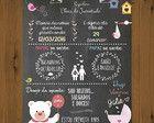Chalkboard - Chá de Bebê
