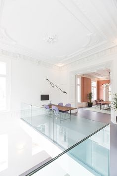 Bridgevest's Rotterdam offices by Studio Tomorrow