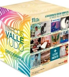 Marcos Valle Tudo (Box) (Discografia 1963 – 1974) (11 CDs)   Marcos Valle Tudo (Box) (Discografia 1963 - 1974) (11 CDs) A Discografia  Odeon Completa e Remasterizada de Marcos Valle de 1963 a 1974:  11 CDs   1.Samba Demais (1963)   2.O Compositor e o Cantor (1965)   3.Braziliance (1967)   4.Viola Enluarada (1968)   5.Mustang Cor de Sangue (1969)   6.Marcos Valle (1970)   7.Garra (1971)   8.Vento Sul (1972)   9.Previsao do tempo (1973)   10.Marcos Valle (1974)   11.The Lost..