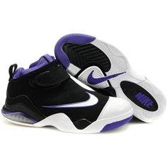 1d37098dd987 Nike Zoom Flight Club Tony Parker Shoes Purple Black White Sport