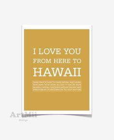 Items similar to Hawaiian islands travel poster Hawaiian decor Hawaii art Love Hawaii Typography print Hawaii Hawaiian typography art print Hawaii art print on Etsy Hawaiian Decor, Volcano National Park, Waikiki Beach, Love You, My Love, Hawaiian Islands, Typography Prints, Travel Posters, Panda