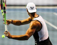 ok guys, I'm done! Tennis Videos, Tennis Tips, Sport Tennis, Play Tennis, Tennis Rafael Nadal, Nadal Tennis, Tennis Clubs, Tennis Players, Federer Nadal