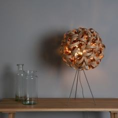 No.1 Table Light and Metal Stand | Tom Raffield