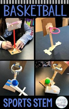 The most fun challenge ever in the STEM lab! The most fun challenge ever in the STEM lab! The most fun challenge ever in the STEM lab! Stem Science, Science For Kids, Stem Teacher, Steam Activities, Activities For Students, Teamwork Activities, Summer School Activities, Sports Activities For Kids, Fun Classroom Activities
