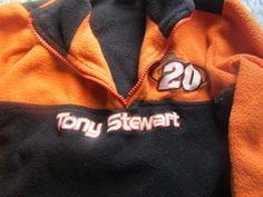 Tony Stewart Nascar Child Sweat Shirt size 5-6 #Chase #FleeceJacket #Everyday