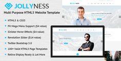 Jollyness - Multi Purpose HTML5 Website Template
