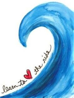 Learn to LOVE the ride - pinned by SwellWomen.com #surfing #inspiration