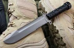 Kizlyar Supreme Knives *NEW* Survivalist AUS-8 Bead Blast