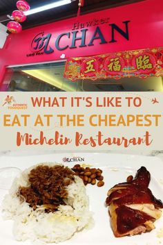 Hawker Chan Singapore Michelin Star Restaurant Authentic Food Quest