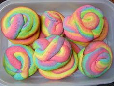 "Meredith wants a ""Rainbow Dash"" (My Little Pony) birthday party. Maybe we should serve ""pegasus poop"" cookies? :)"