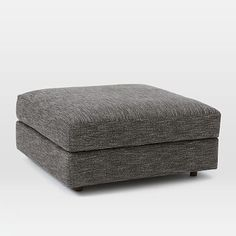 Urban Ottoman #westelm Nordic Weave Arctic to go with swivel chair