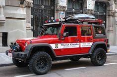 CSI de Romania sau doar o masina de offroad Emergency Vehicles, Fire Engine, Ambulance, Romania, Offroad, Luxury Cars, Jeep, Engineering, Bike