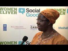 Nyaradzayi Gumbonzvanda, General Secretary, World YWCA speaks with +SocialGood