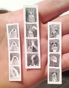 Teeny Tiny Insect Photo Booth Strips