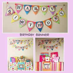 PREMADE Lalaloopsy Inspired Birthday Banner by onelovedesignsllc, $30.00