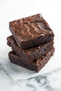 Dense and chocolatey!...How to Make Brownies from Scratch - Easy Brownie Recipe