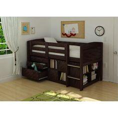 Georgetown Storage Loft Bed, Espresso