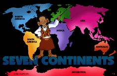 Continents and Oceans w1
