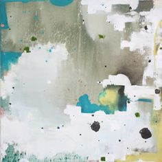 Abstract painting by Rashad Nelson