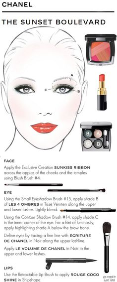 Chanel - The Sunset Boulevard Look Tutorial