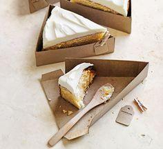 Cómo hacer cajas para porciones de tarta individuales