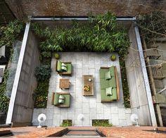 Brooklyn Heights Townhouse - contemporary - patio - new york - Edmund Lewis Ltd.