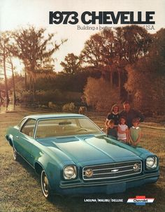 1973 Chevrolet Laguna Colannade Hardtop Coupe / I had a 74 malibu love the body style Old American Cars, American Classic Cars, Chevrolet Malibu, Chevrolet Chevelle, Chevrolet Auto, Pub Vintage, Vintage Cars, 1973 Chevelle, Chevy Muscle Cars