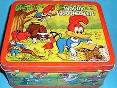 Woody Woodpecker - just seeing this makes me feel sick - i hardly used it ; i ate lunch at home!!!