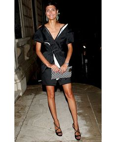 Style icon: 21 of Giovanna Battaglias best looks. www.ddgdaily.com #fashion