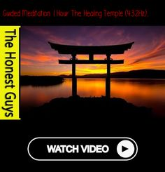 """GUIDED MEDITATION 1 HOUR 'The Healing Temple' (432Hz) Follow us for more meditation advice. Follow us for more meditation advice. The Healing Temple - Physical CD available in our store here -...""""  #meditation #meditate #meditating Meditation Videos, Guided Meditation, Go To Sleep, Helping People, Physics, Temple, Massage, Advice, Healing"""