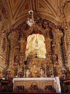 Interior da Igreja Nossa Senhora do Carmo, Ouro Preto.