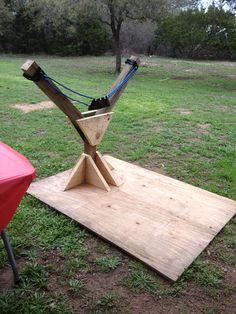 Backyard games 433401164141835715 - How to Build a DIY Backyard Slingshot Source by tjwhosyourmomma Backyard Playground, Backyard Games, Backyard Projects, Outdoor Games, Outdoor Fun, Outdoor Activities, Fun Projects, Wood Projects, Woodworking Projects