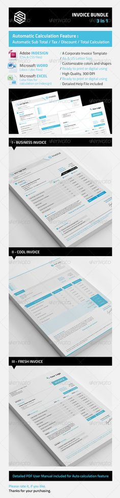 cute invoice Design    Print Pinterest Typography, Template - make an invoice in excel