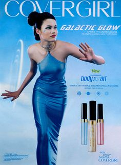 CoverGirl Galactic Glow Ad by Kitten Moon, via Flickr