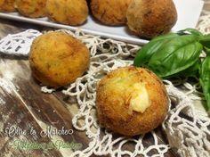 Polpette di patate con verdure, vegetariana | Oltre le Marche