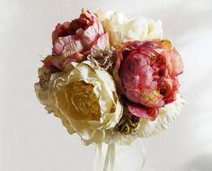 Romantic Wedding Bouquet Keepsake Bouquet by WeddingDesignForYou