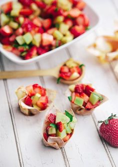 Considering how incredibly pregnant I am feeling right now, my contribution to Easter Brunch this weekend is going to be small. It will, however be delicious! This Strawberry Cucumber Salad tastes like spring and the promise of summer all at once. With...