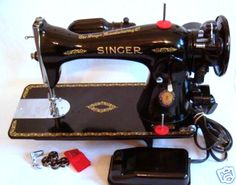 Singer Model 15 Sewing Machine Restoration Decals Silver Metallic 40701s Antiques Collectibles
