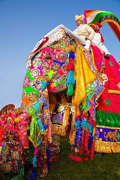 Elephant Festival is a festival celebrated in Jaipur city in Rajasthan state in India. It is held on the day of Holi festival, usually in the month of March. The festival features Elephant polo and Elephant Dance.