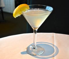 Sparkling Pear Martini! - Aerie Restaurant and Lounge