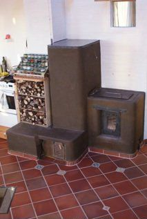 Rocket Stove - you can often heat your house with little as recycled yard trimmings