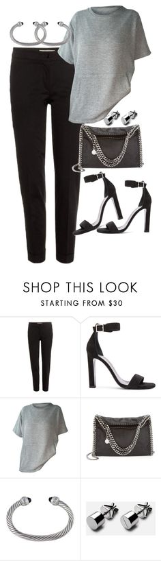"""Untitled #1792"" by sarah-ihab ❤ liked on Polyvore featuring Etro, Yves Saint Laurent, STELLA McCARTNEY and David Yurman"