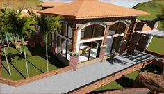 Area de la sala villas Flores, ciudad Choluteca, Honduras  Arq. Hector Larios