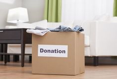Whether giving away the goods or saving them for a sale, package them now in clearly marked cardboard boxes that can be stashed in the attic, a dry garage, or your basement until yard sale season commences, or until you have time to visit your local charity drop-off center. Be sure to keep an inventory list of what you donate to share with your accountant at tax time. A write-off is very likely.