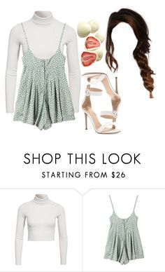 """""""10:36 pm"""" by georgia78 ❤ liked on Polyvore featuring NLY Trend and Gianvito Rossi"""