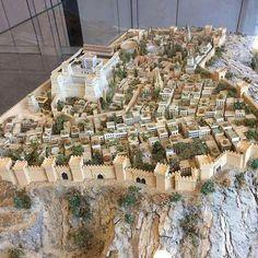 Model of Solomon's temple in Jerusalem (Germany Bethel).