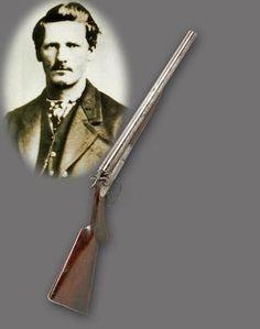 Wyatt Earp's Remington Double Barreled Shotgun