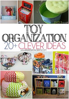 26 Ways To Organize Toys In Small Spaces Organization